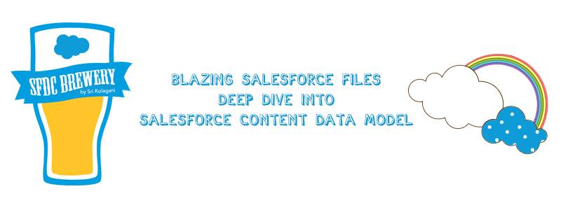 Blazing Salesforce Files Deep Dive Into Salesforce Content Data