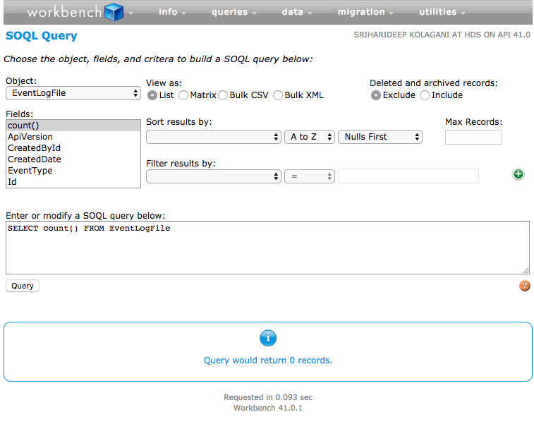 Event Monitoring on Salesforce – SFDC Brewery by Sri